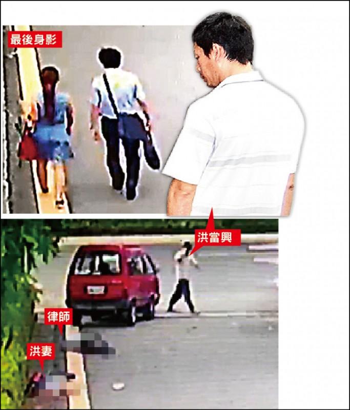 男子洪當興在台南地院旁撞死妻與律師黃政雄,判處無期徒刑定讞。 (資料照)