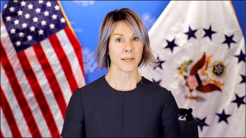 美國駐聯合國大使克拉夫特任期結束,她在離任前特別錄製七分鐘影片、並發布推文,再度為台灣強力發聲,呼籲各國團結對抗中國企圖排擠並孤立台灣的作為。(擷取自美駐聯合國代表團官網)
