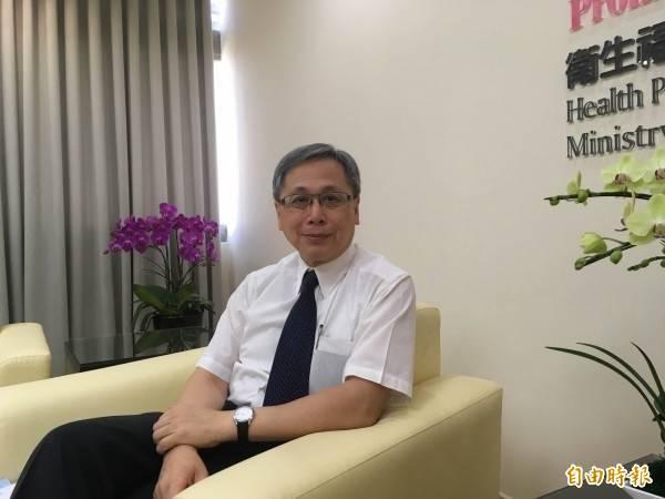 國健署長王英偉因借調期滿,將於2月1日卸任。(資料照)