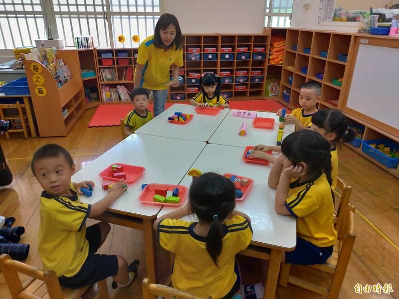 台北市公立幼兒園、非營利幼兒園招生簡章上網公告。(記者蔡亞樺攝)