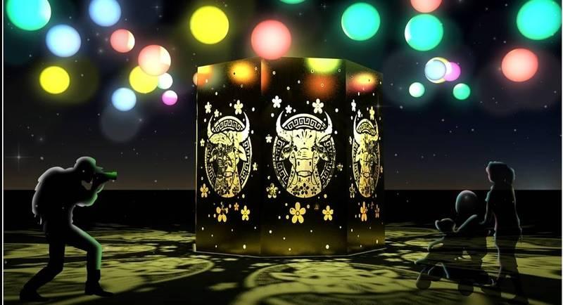 防疫!竹北元宵燈會2/8起首採光雕藝術在水圳公園展示