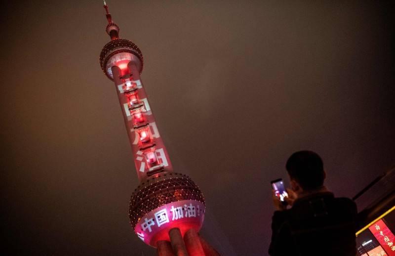 中國境內武漢肺炎(新型冠狀病毒病,COVID-19)疫情持續延燒,昨天上海新增6宗本土確診,其中3名確診者和上海中福世福匯大酒店有關,目前該酒店已被列為中風險地區。(法新社)