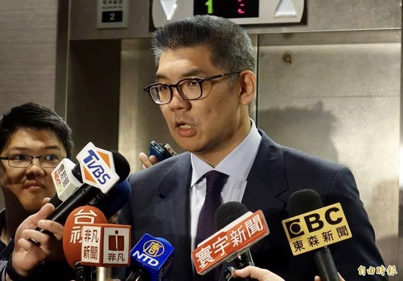 連勝文表示,或許應該讓蔡英文直接和新老闆美國總統拜登道歉,「我想新老闆都已經願意讓駐美代表參加他的就職典禮了,只要你謙卑表態,或多或少可能也會願意幫忙台灣一些吧」。(資料照)