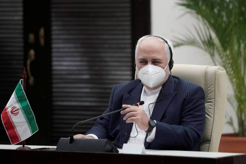 伊朗外長札里夫投書雜誌《外交》,呼籲拜登政府取消制裁,以挽救伊核協議。(路透)