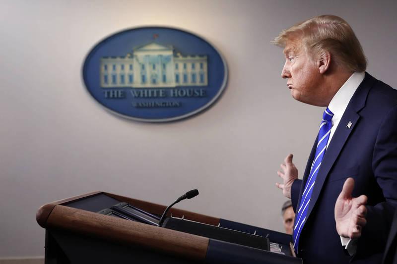 美前總統川普彈劾案審判將於2月8日登場。(美聯社)