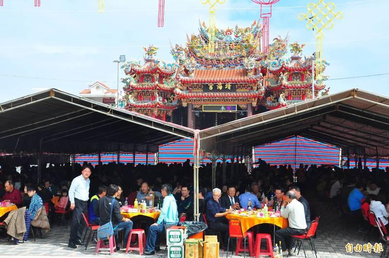 澎湖行之有年的娘家宴,今年因疫情宣布取消。(資料照,記者劉禹慶攝)