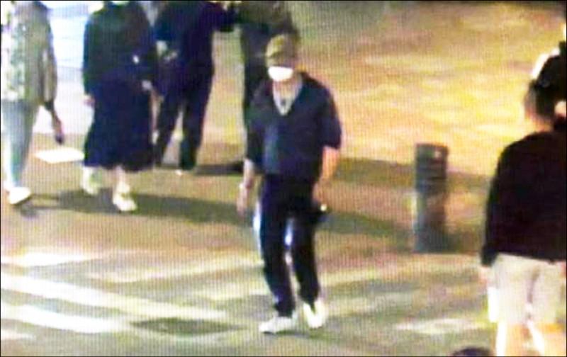 女地主指控陳姓通緝犯性侵,警方調閱監視器追查陳男,將其逮捕到案。 (記者闕敬倫翻攝)