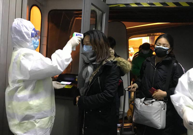中國駐紐約總領館稱,有赴中人士明知自己確診,卻假造檢驗資料企圖入境。(美聯社檔案照)
