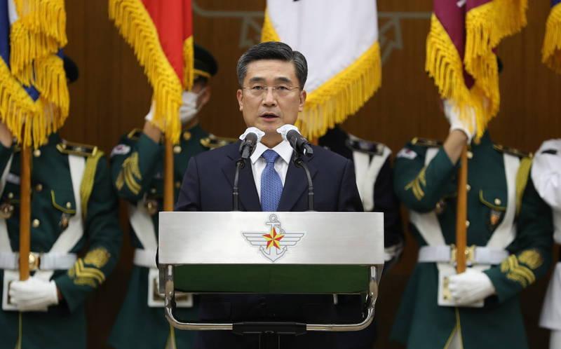 南韓國防部長徐旭已於今日和美國新任非裔國防部長奧斯汀通電話,強調雙方將共同關切朝鮮局勢,強化溝通管道及夥伴關係。(歐新社)