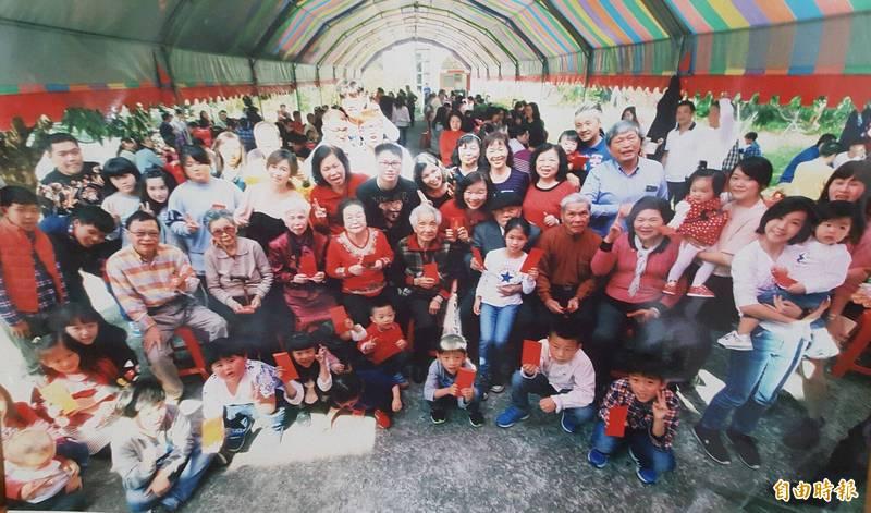 台中太平張家,每年大年初二都有近600位宗親聚會相當熱鬧,今年考量疫情決定停辦。(記者陳建志攝)