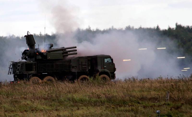 緬甸三軍總司令敏昂萊近日與俄羅斯簽署協議,將採購俄羅斯的Pantsir-S1(鎧甲-S1)防空系統,圖為Pantsir-S1防空系統。(路透資料照)