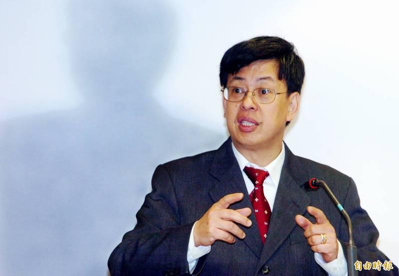 2003年陳建仁(見圖)在SARS疫情期間臨危受命接掌行政院衛生署長。(資料照)