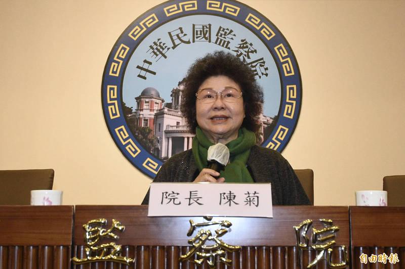 監委1月27日將受理受刑人視訊陳情,監察院長陳菊今表示,這是「監察法」施行73年以來的第一案,也是我國獄政史上的創舉。(記者叢昌瑾攝)