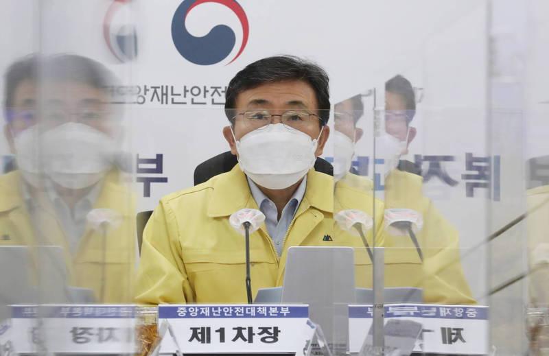 南韓武漢肺炎疫情延燒,今天通報新增9例感染變種病毒的病例,累計達27例。(歐新社)