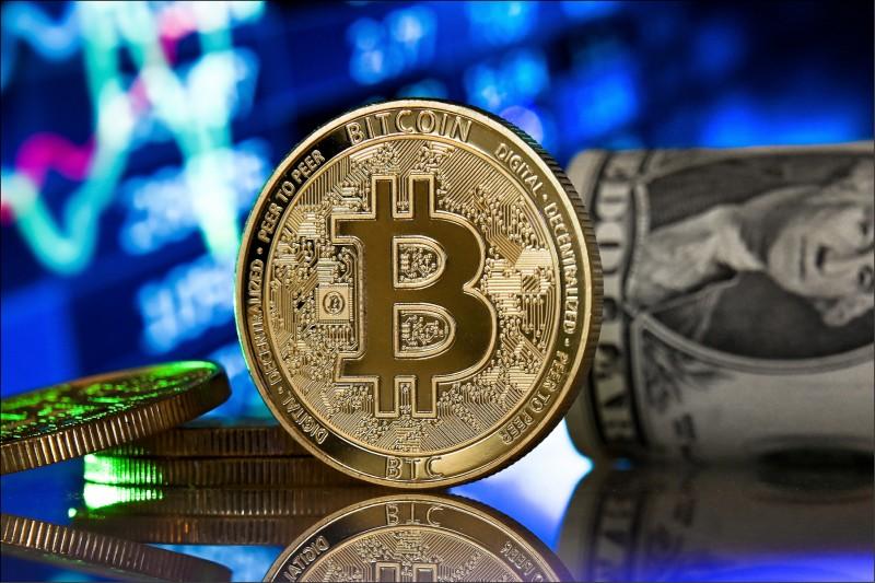 目前全球共有1850萬枚比特幣、約佔20%處於被遺失或打不開的狀態。圖為示意圖。(歐新社)