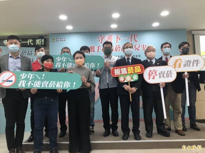 國健署委託消費者基金會調查,發現台灣店家販售商品給未成年者仍達37.1%。(記者楊媛婷攝)