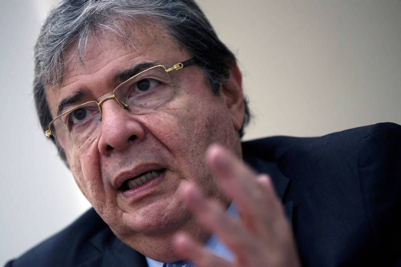Colombian Defense Minister Trujillo contracted Wuhan pneumonia and died.  (Reuters)