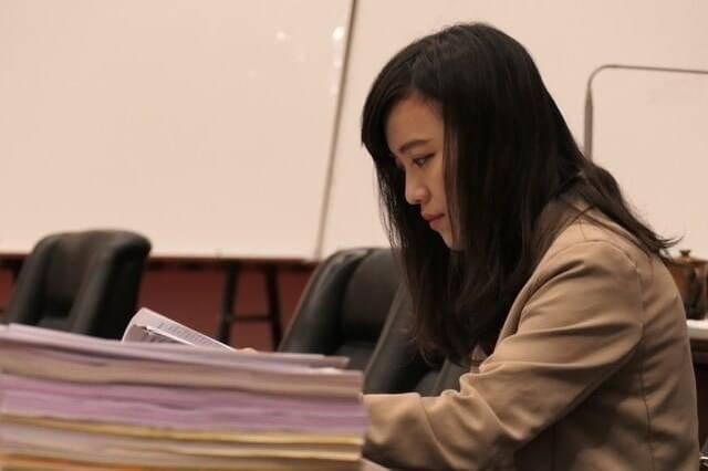 高市議員黃捷指出,她支持的許多理念都是親中人士大力反對的。(記者王榮祥翻攝)