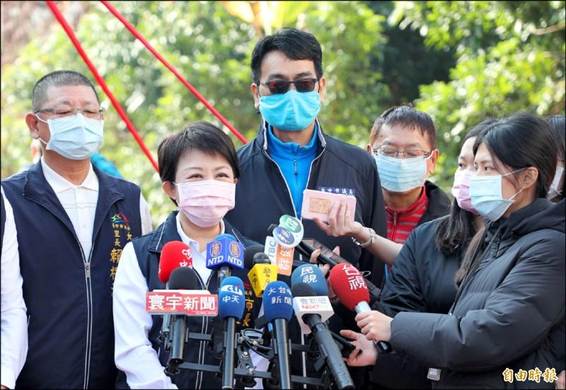 台中市長盧秀燕昨表示,這名台商不顧家人、左鄰右舍與台中防疫安全,「惡行重大」,一定會重罰。(記者陳建志攝)