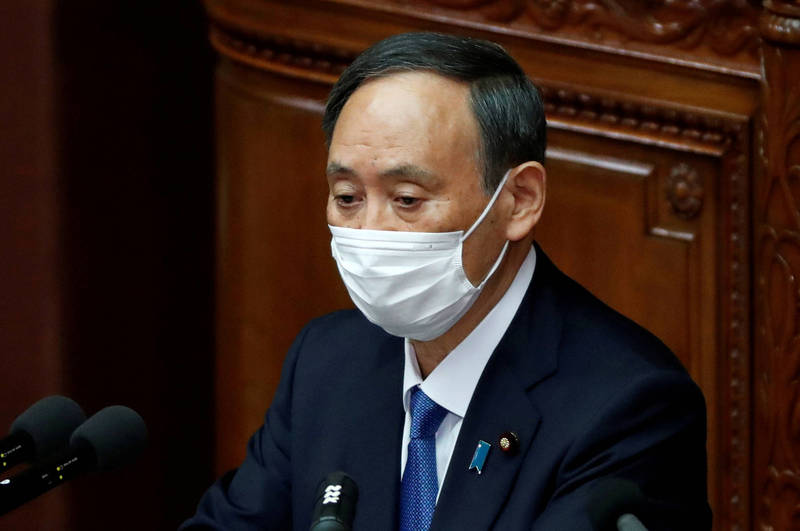 In Japan, nearly 200 confirmed martial arts patients died during their home recuperation. Yoshihide Suga apologized today.  (Reuters)