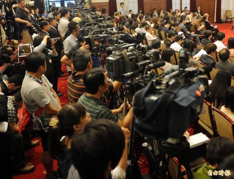 國際媒體記者紛紛遷來台北。(資料照)