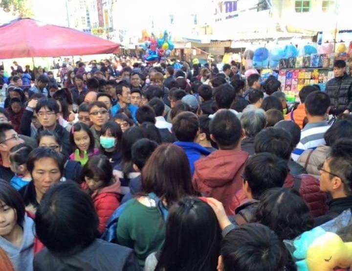 澎湖新春城隍廟市集,因防疫需求宣布取消。(澎湖縣政府提供)