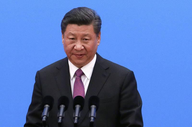 中國領導人習近平加強控制中國民眾言論。(美聯社檔案照)