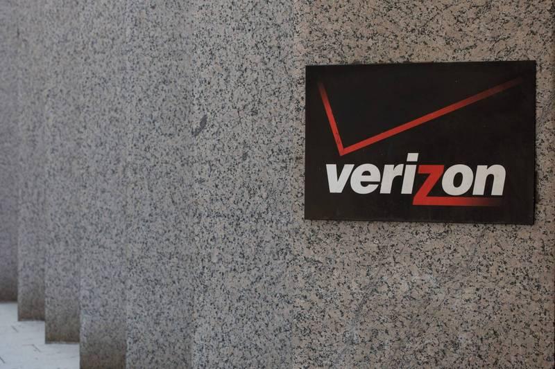 美國主要網路服務商Verizon疑似發生光纖電纜毀損事件。(法新社)