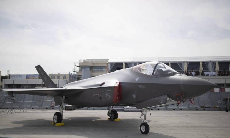 拜登政府暫停向外國出售美製軍武,包括阿聯的50架F-35軍售案。(歐新社)