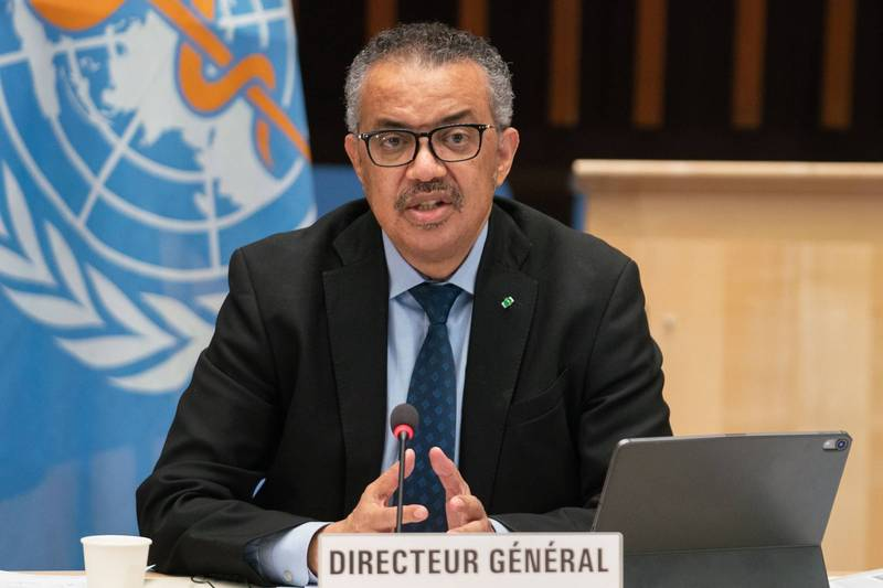 WHO Secretary-General Tedros Adhanom Ghebreyesus said that he has requested China to support the visit and information needed by the expert group.  (AFP information photo)