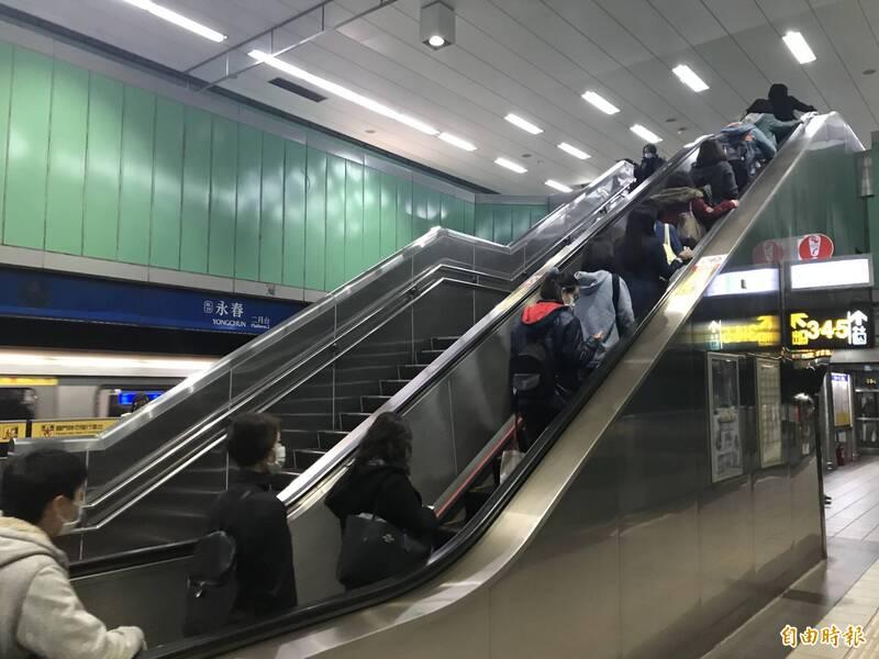 北捷去年337件旅客受傷電扶梯意外占大宗- 生活- 自由時報電子報