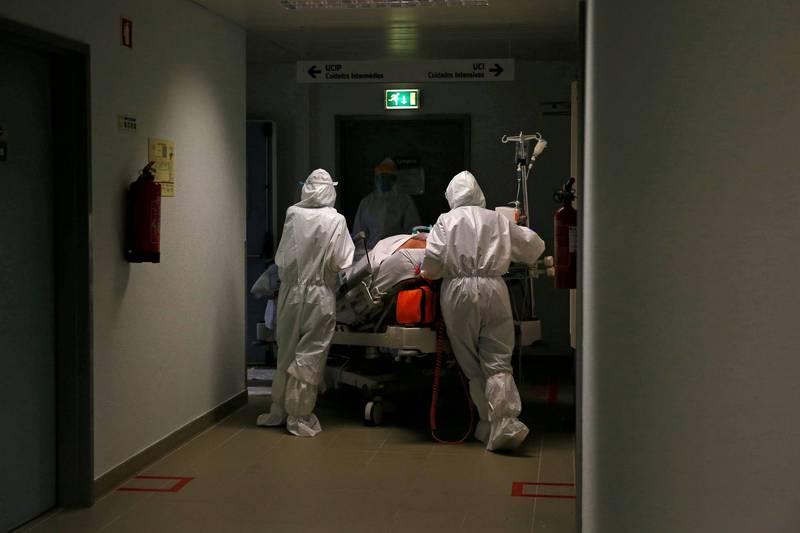 德國軍方預計派遣27名醫護人員和設備前往葡萄牙3個星期。(路透)