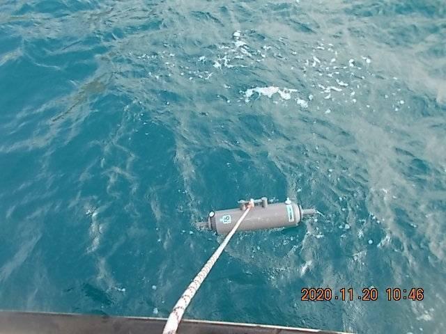 宜蘭龜山島海域銅濃度超標,近10年罕見。(記者洪定宏翻攝)