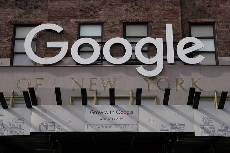 美國勞工部表示,谷歌公司(Google)同意支付380萬美元(約新台幣1億640萬元),就被控歧視女性工程師和亞裔求職者一案達成和解。(路透)