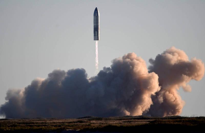 馬斯克希望能在2026年讓人類登陸火星。(路透)