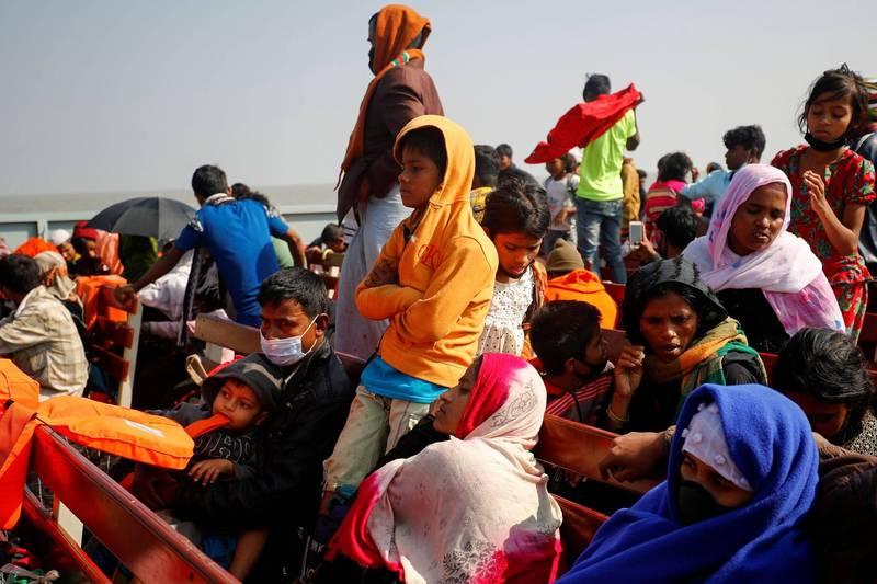 聯合國擔憂,緬甸政變後羅興亞人的處境恐會更加艱困。(路透)