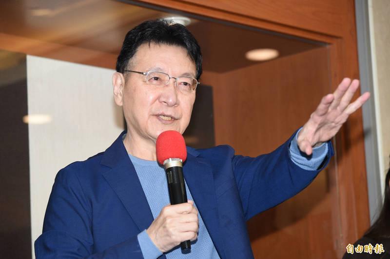 資深媒體人趙少康當年脫離國民黨後參與籌組新黨,現在又申請回國民黨,引起不少話題。(資料照)