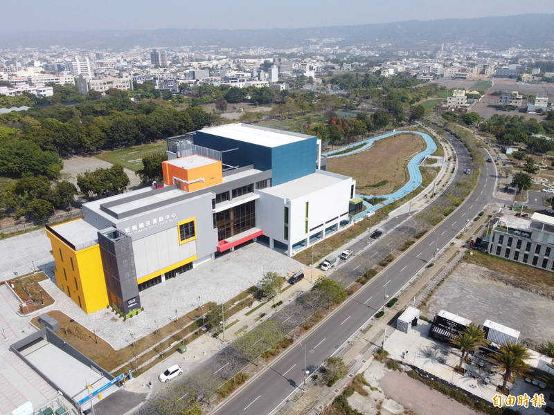 彰南國民運動中心將於2月27日試營運7天。(記者顏宏駿攝)