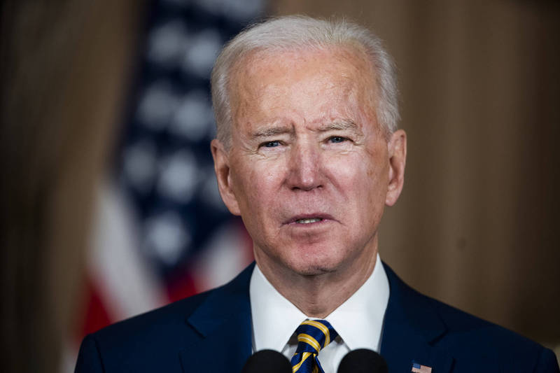 The Biden administration proposed a US$1.9 trillion Wuhan pneumonia rescue case, and today the Senate passed a vote on the draft budget.  (Information photo, Bloomberg)