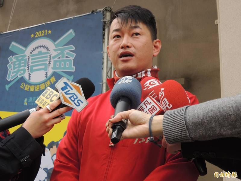 立委陳柏惟說,黃捷罷免案未通過是公民社會的成功。(資料照)