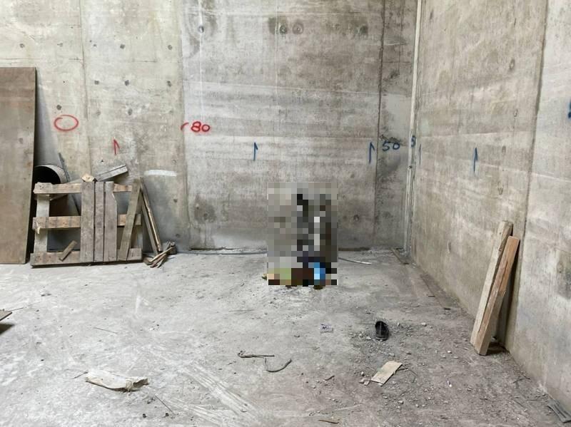 南科再生水廠發生女工人墜落身亡的工安事故。(記者吳俊鋒翻攝)