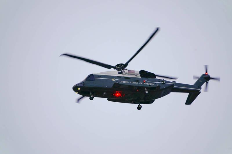 全新「陸戰隊一號」VH-92A將在今年陸續交機。(美聯社)