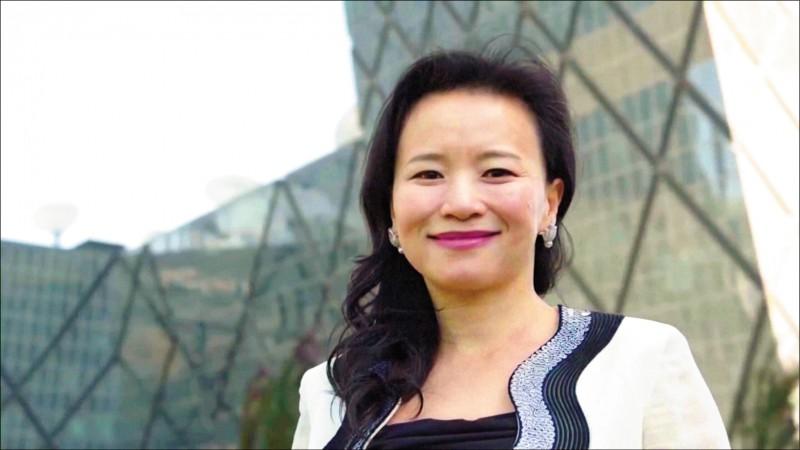中國官媒「中國環球電視網(CGTN)」澳洲籍華裔財經主播成蕾,五日被中國當局「正式逮捕」,罪名是涉嫌非法向海外提供中國國家秘密。(路透檔案照)