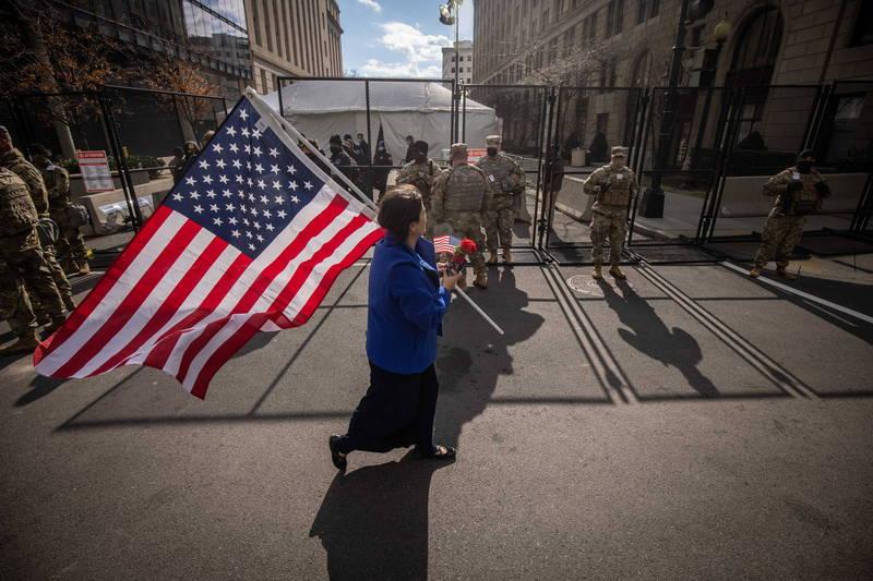 美联社民调显示,有近半数美国人认为国家民主制度运作失灵。(欧新社)(photo:LTN)