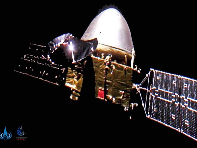 中国火星探测器「天问一号」将在週三抵达火星。(美联社)(photo:LTN)