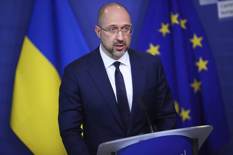 烏克蘭總理什米加爾(見圖)今天表示,俄羅斯正利用武漢肺炎疫苗干涉東歐政治。(資料照,法新社)