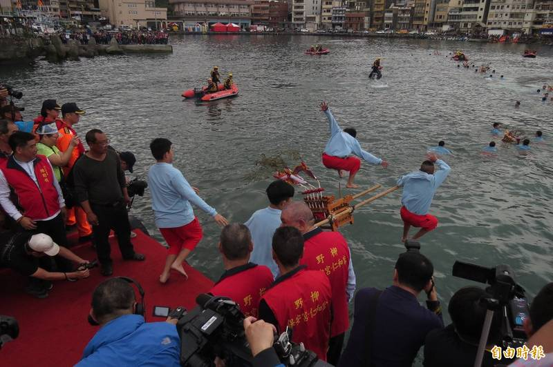 野柳神明淨港文化祭。(資料照)