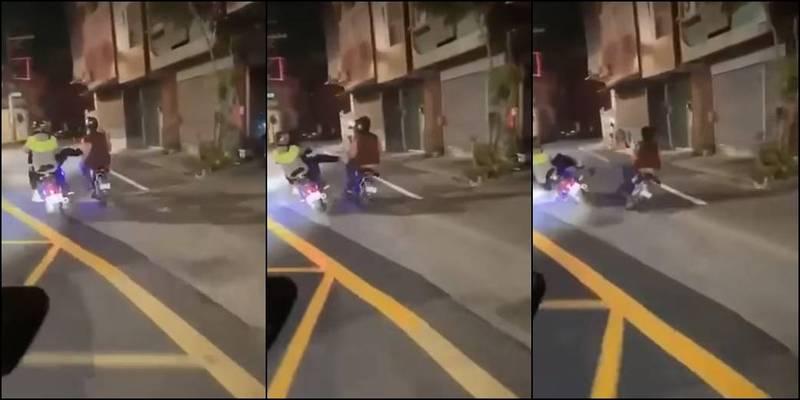 台南屁孩傷害外籍移工事件引發網友不滿。(圖取自爆料公社)