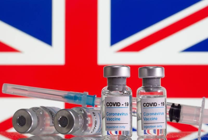 武漢肺炎的病毒在英國持續變異,英國當局擔心現有疫苗已符法應付新的變種病毒。(路透)