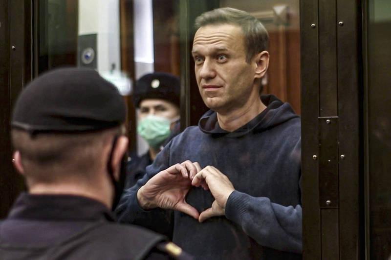 纳瓦尼因「涉嫌」毁谤一名二战老兵而被告上法院。(美联社资料照)(photo:LTN)